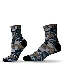 Unisex Camouflage Pattern Camo Quarter Socks