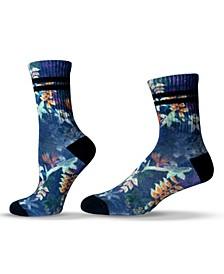 Unisex Floral Crew Socks