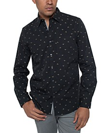 Men's Swallow Print Shirt