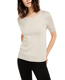 Silk & Cotton Pullover Top