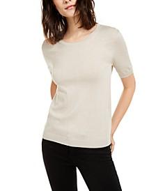 Silk & Cotton Pullover Top