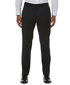 Men's Modern-Fit Gray Solid Suit Separate Pants