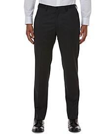 Men's Slim-Fit Gray Solid Suit Separate Pants
