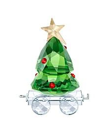 Swarovski Christmas Tree Wagon Figurine