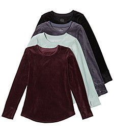Women's Double-Plush Velour Top