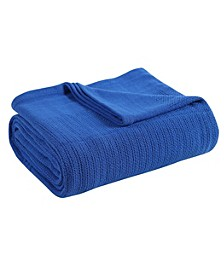 Classic Thermal Cotton Blanket - Full/Queen