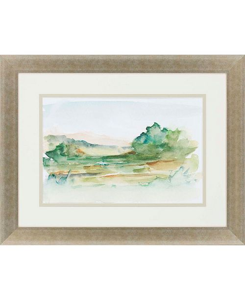 "Paragon Impressionist View V Framed Wall Art, 28"" x 36"""