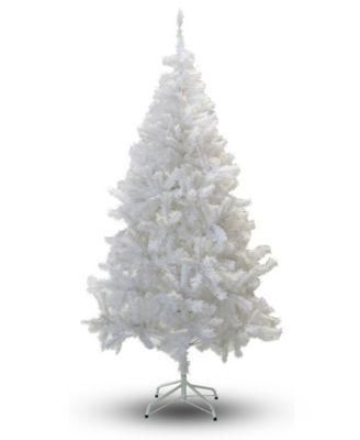 7' Crystal White Christmas Tree