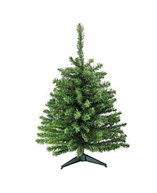 3' Canadian Pine Artificial Christmas Tree - Unlit