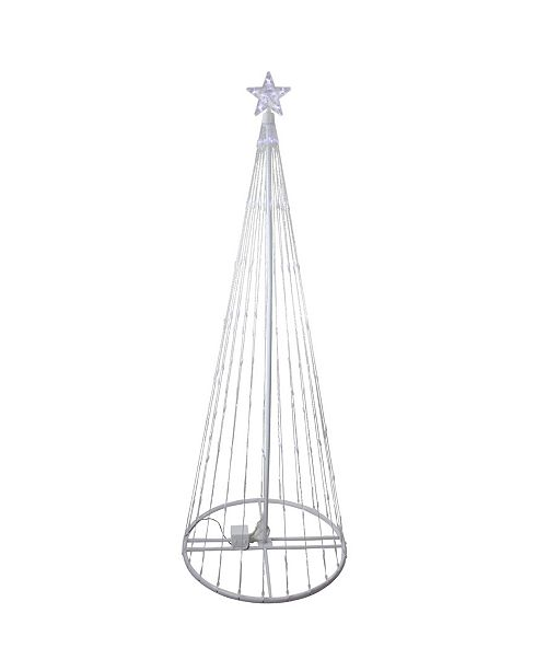 Northlight Led Lighted Show Cone Christmas Tree Outdoor Decoration