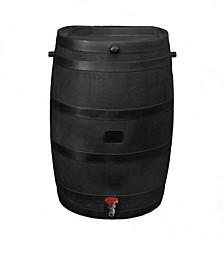 Flat Back Rain Barrel