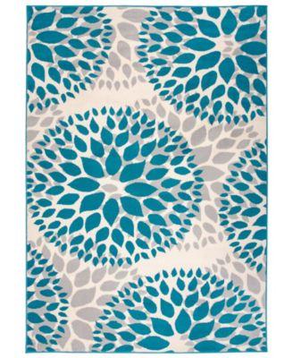 Haven Hav9099 Blue 5' x 7' Area Rug