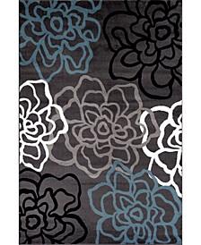 Montane Mon108 Gray 10' x 14' Area Rug