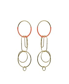 Circles with Clips Earrings