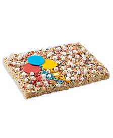 Birthday Cake Party Bar Giant Rice Krispie Treat