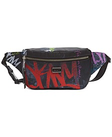 Gigi Graffiti Logo Belt Bag, Created For Macy's