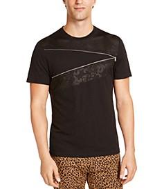 INC Men's Mesh Zipper T-Shirt, Created For Macy's