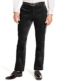 I.N.C. Men's Big & Tall Slim-Fit Velvet Pants, Created For Macy's