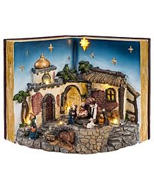 Animated Musical Nativity Book