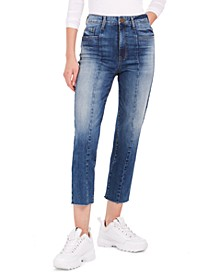 Avery High-Rise Seam Detail Jeans