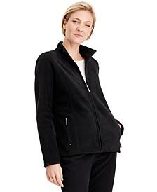 Petite Princess-Seam Zeroproof Zip-Front Jacket, Created for Macy's