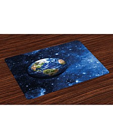 Space Place Mats, Set of 4