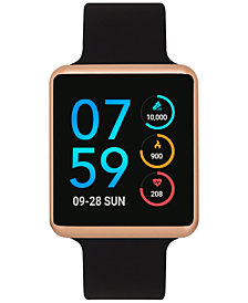 iTouch Women's Air Black Silicone Strap Touchscreen Smart Watch 35x41mm - A Special Edition