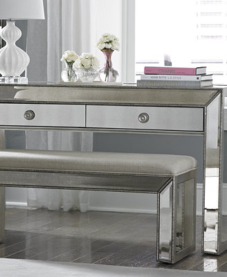 Sophia Mirrored Collection Furniture Macy s