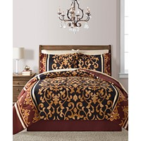 Deals on 8-Pc. Reversible Comforter Sets