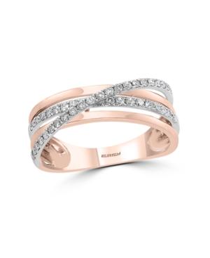 Effy Diamond Ring in 14k Rose Gold