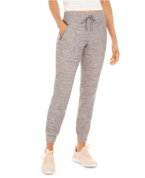 Ideology Waffle-Knit Joggers, Created for Macy's