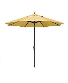 Patio Umbrella, Outdoor Bronze 9' Auto-Tilt, Quick Ship