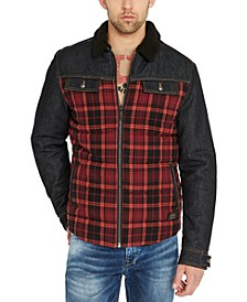Men's Jihoan Denim Flannel Jacket
