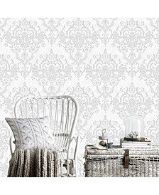 Victorian Damask Wallpaper