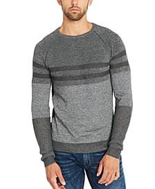 Men's Watake Striped Colorblocked Sweater