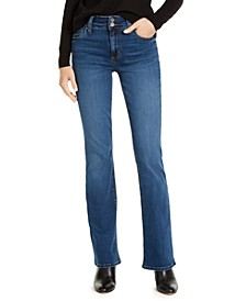 Natalie High-Rise Bootcut Jeans, Created For Macy's