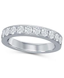 Diamond (1 ct. t.w.) Band in 14K White Gold
