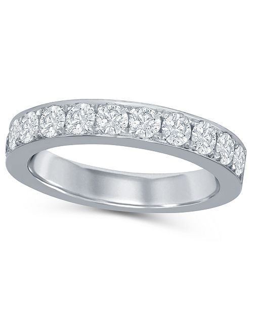 Macy's Diamond (1 ct. t.w.) Band in 14K White Gold