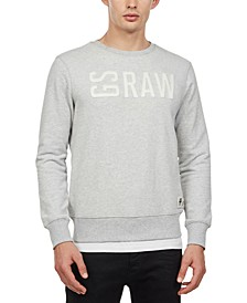 Men's GSRAW Logo Graphic Sweater