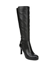 Naturalizer Tai High Shaft Boots Wide Calf