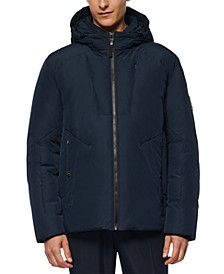 Men's Spalding Down-Filled Hooded Jacket