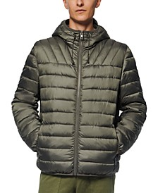 Men's Dunmore Puffer Packable Hooded Jacket