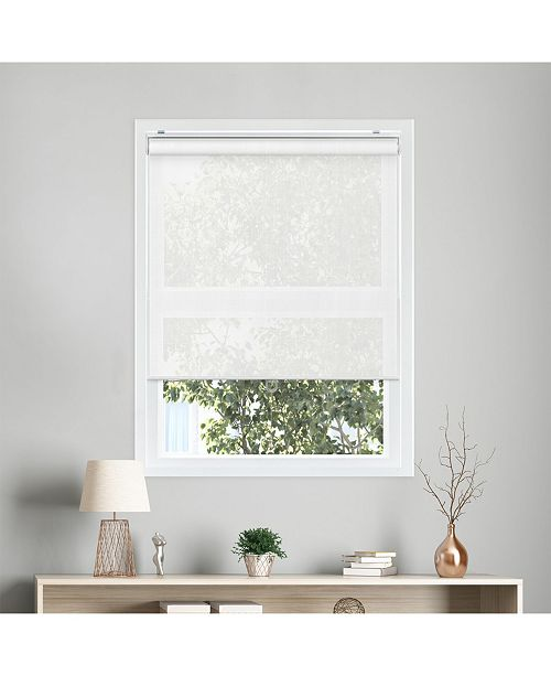 "Chicology Cordless Roller Shades, Smooth Privacy Window Blind, 48"" W x 72"" H"