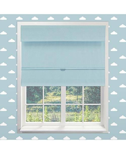 "Chicology Cordless Magnetic Roman Shades, Room Darkening Fabric Window Blind, 48"" W x 64"" H"
