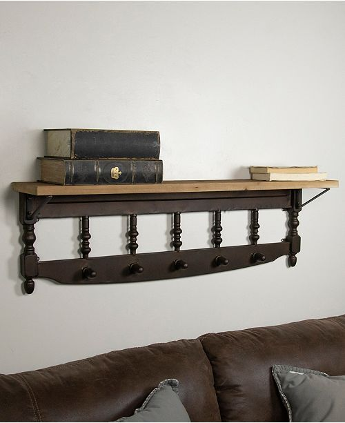 VIP Home & Garden VIP Home International Wood Wall Shelf