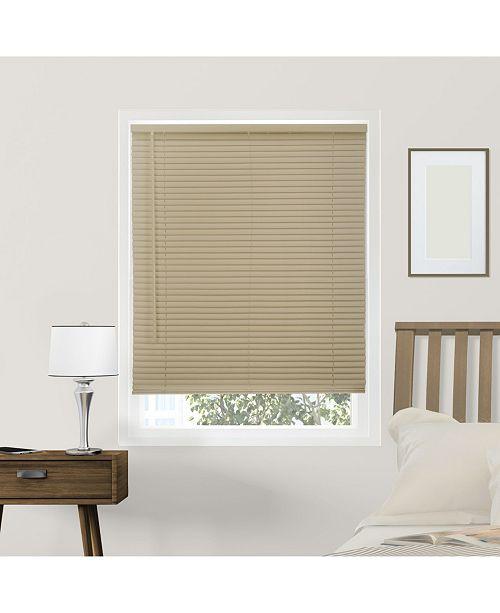 "Chicology Cordless 1"" Mini Blinds, Horizontal Venetian Slat Window Shade, 58"" W x 64"" H"