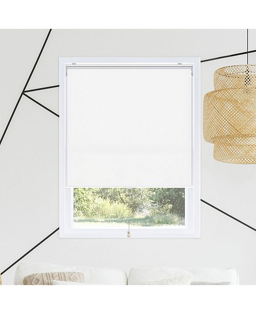"Chicology Cordless Roller Shades, Smooth Room Darkening Window Blind, 25"" W x 72"" H"