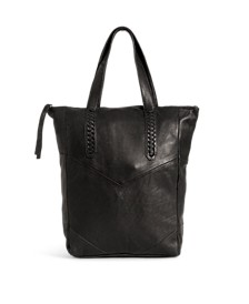 Elza Leather Shopper