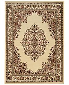 1595/IVORY/5PCT Tuscany Kerman Ivory Set Area Rug