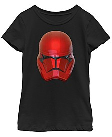 Big Girls Rise of Skywalker Sith Trooper Helmet T-Shirt